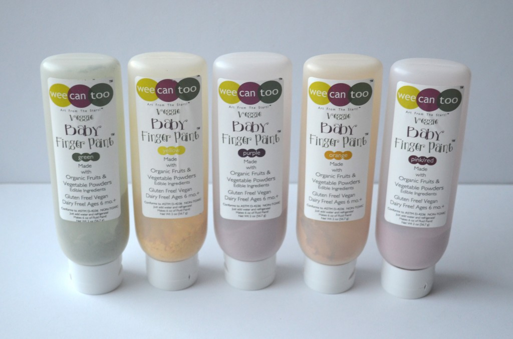 organic finger paints 2