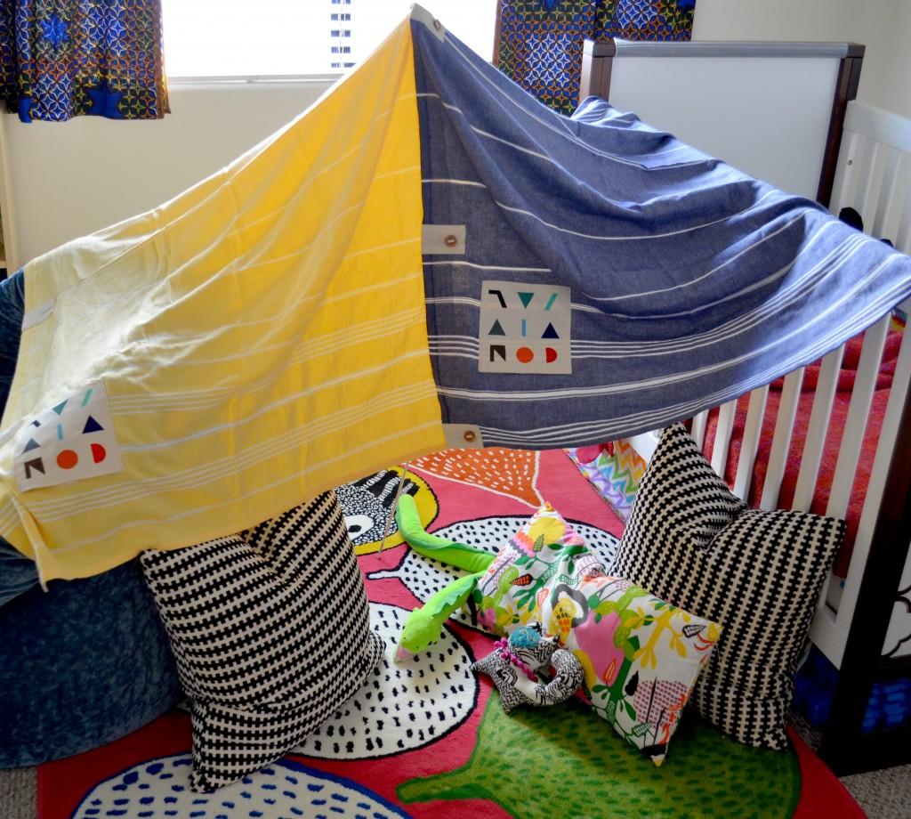 beach blanket convivial fort