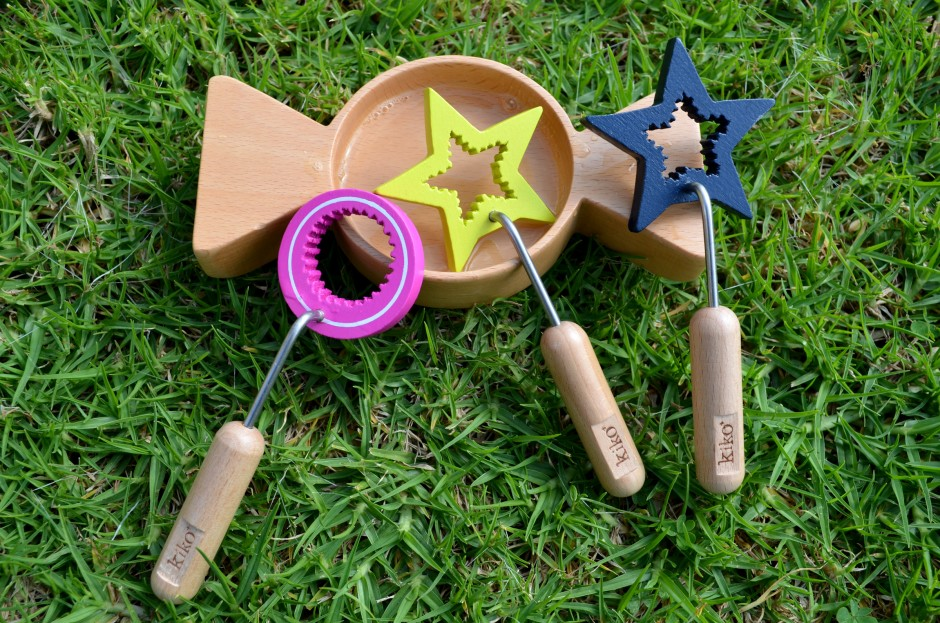 kilo wooden bubble set