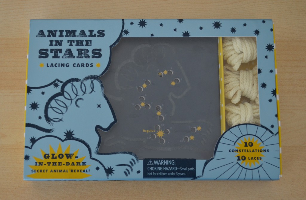 Animals in the stars activity cards 1