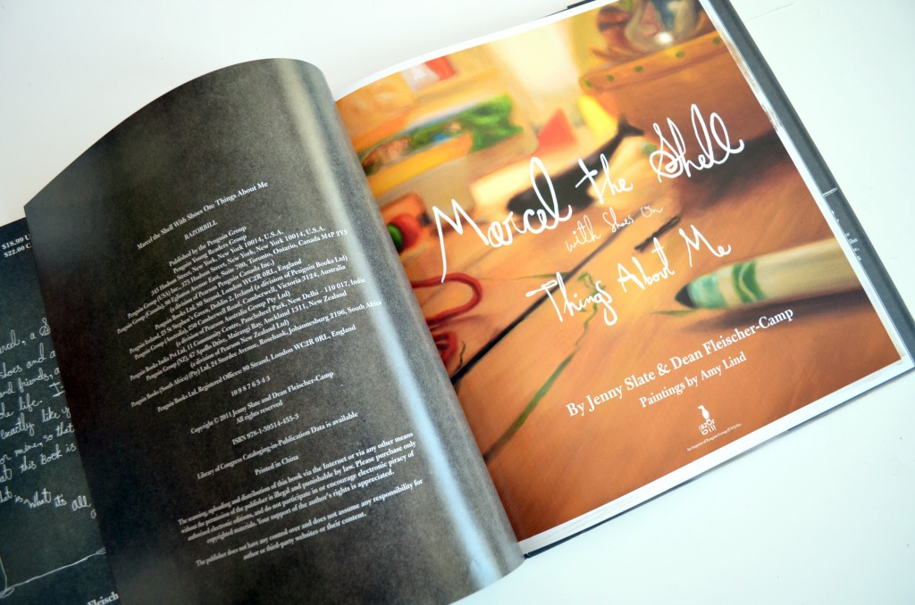 Marcel the Shell children's book
