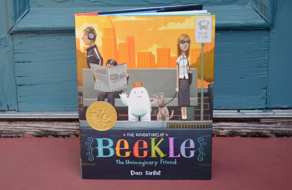children's book - beekle 2