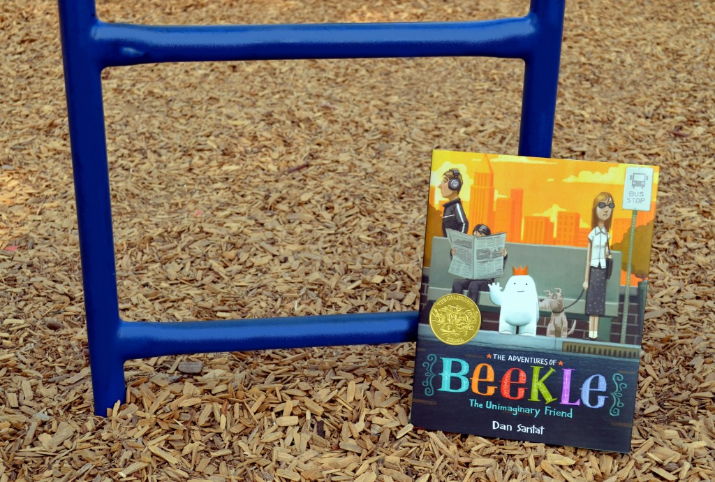 children's book - beekle 4