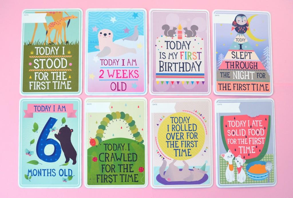 Milestone Cards Kidolo