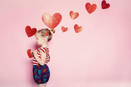 Ultra Violet Kids Valentines Day