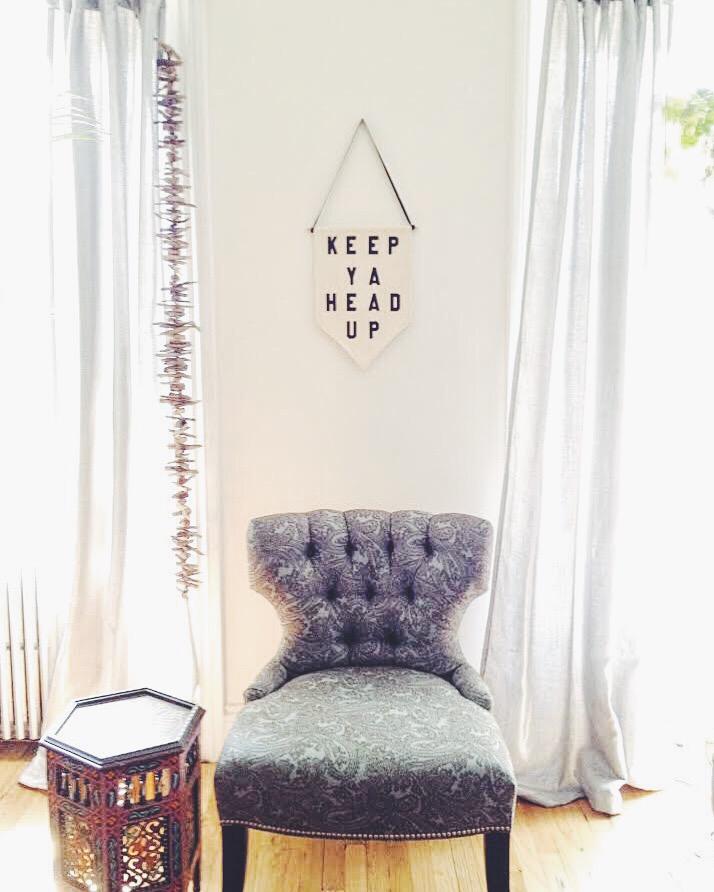Rayo & Honey wall pennants