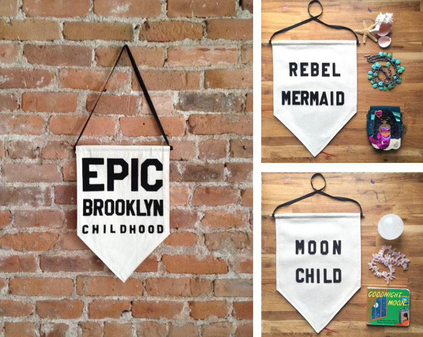 Rayo & Honey Wall Pennants