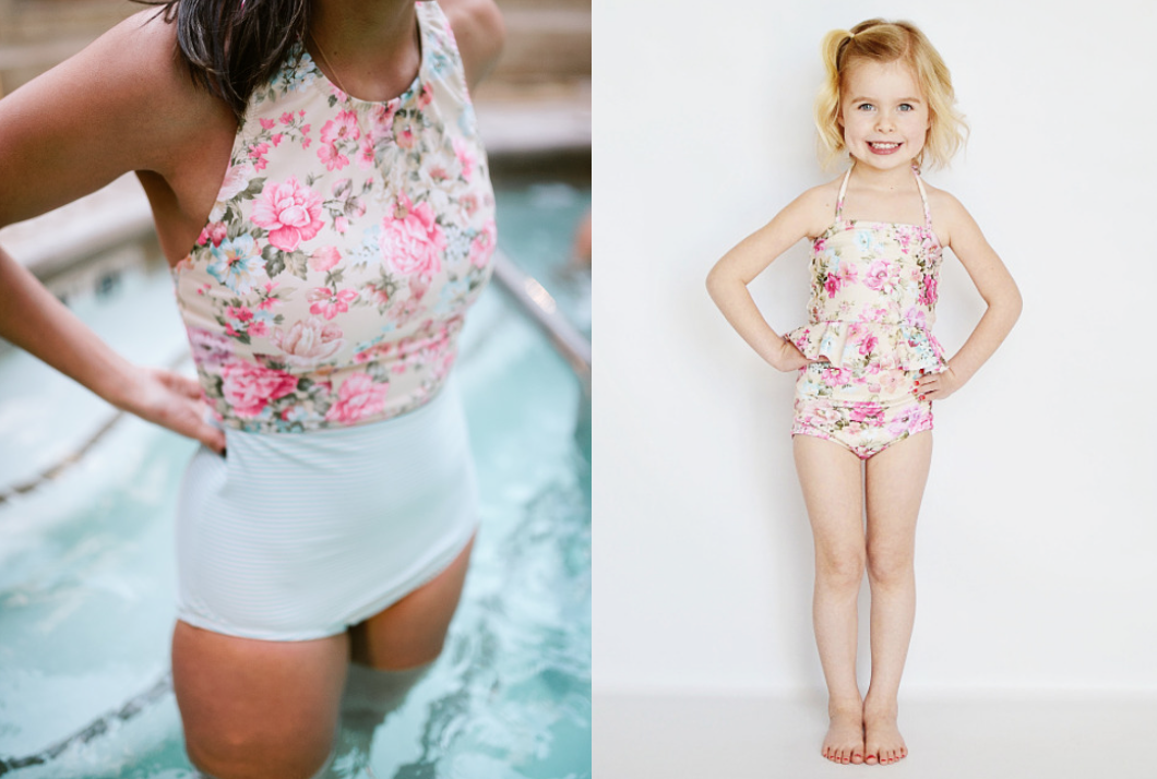 June Loop Mix and match swimsuits