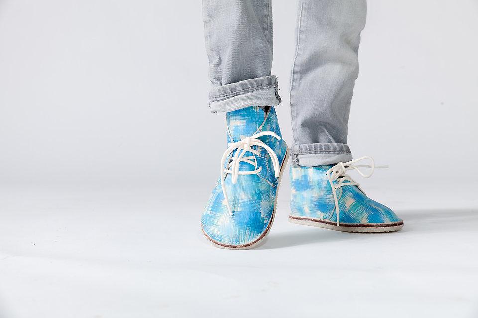 Mason Dixon handmade leather children's boots