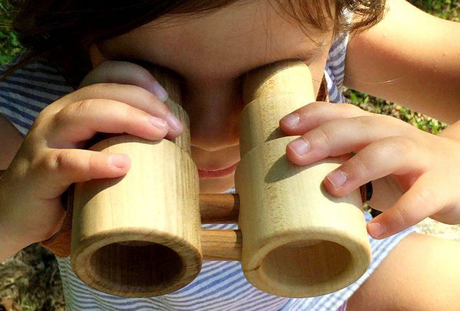 Little Miss workbench toy binoculars