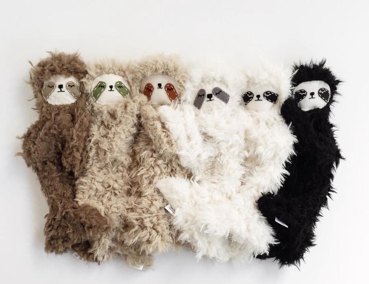 Slumberkins bedtime Slumber Sloths