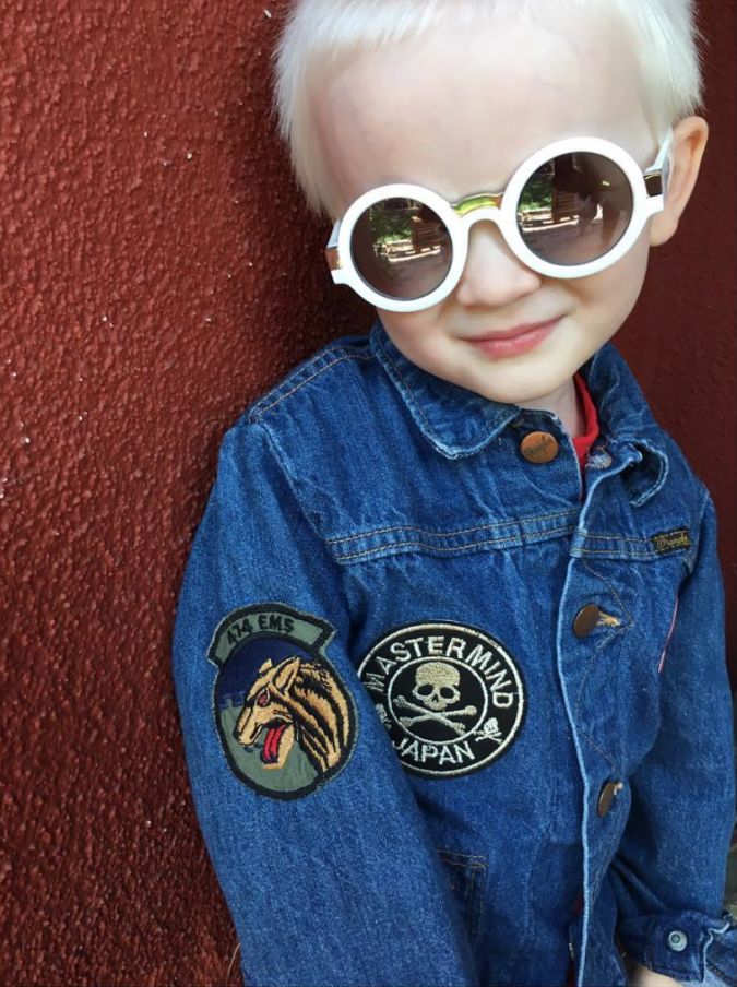 Hey Babe! kids denim jackets