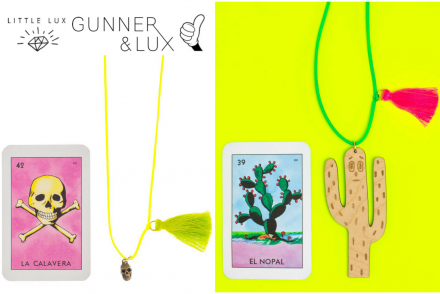 Gunner and Lux Little Lux dress up kids necklace