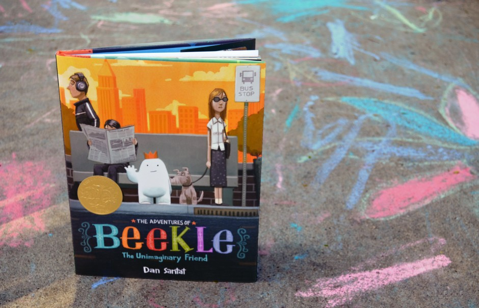 children's book - beekle 5