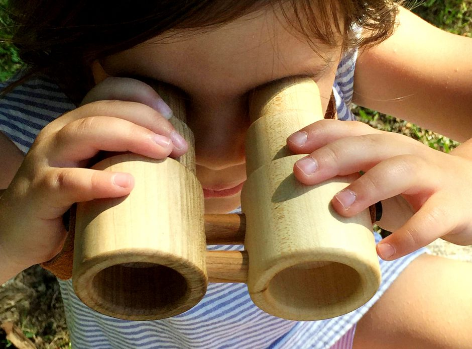 Little Miss workbench toy binoculars